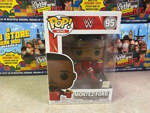Funko POP! NIB Sports WWE Wrestling Street Profits MONTEZ FORD #95