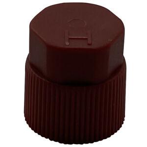 (10) FJC 2612 A/C Repair Service Valve Port Cap Red High Side R-134a 10mm x 1.25