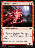 4x Generator Servant - M-NM - Ultimate Masters - SPARROW MAGIC - mtg C