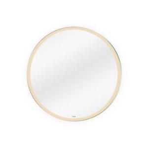 "Dyconn Faucet Maxwell Round LED Bathroom Mirror w/Motion Sensor (32"" Diameter)"
