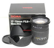 Sigma 17-70mm f2.8-4.5 Lente Zoom Af Mk I (6680BL)