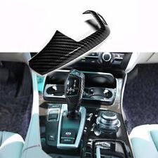 ABS Carbon Fiber Style Car Gear Shift Cover Sticker Fit For BMW E60 E70 X5 X6