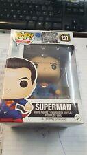 Funko Pop Heroes DC Justice League Superman 207 Damaged Box