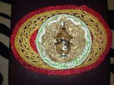 MOROCCAN DECORATIVE (HANG)PLATE With Small Tajin In The Middle