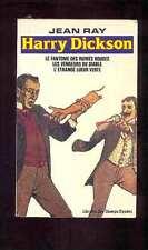 Jean RAY Harry Dickson 1 (3 aventures) Librairie des Champs Elysées 1980 TBE