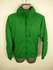 MENS H&M GREEN ZIP UP LIGHTWEIGHT HOODED CASUAL WINTER COAT JACKET SIZE S SMALL
