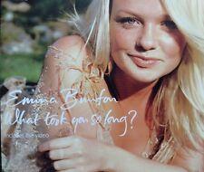Emma Bunton - What Took You So Long? (CD '01) Enhanced/video (ex Spice Girls)