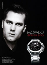 Tom Brady 1-page clipping 2008 ad for Movado
