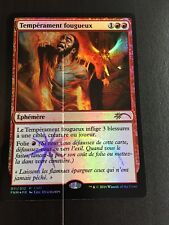 MTG MAGIC CARTE PROMO FNM FIERY TEMPER (FRENCH TEMPERAMENT FOUGUEUX) NM FOIL