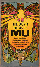 James Churchward THE COSMIC FORCES OF MU pb 1968 Ancient World Vintage-Good