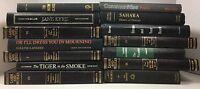 Lot of 10 Black Antique - Vintage - Current Books Decorator Set *MIXED LOT*