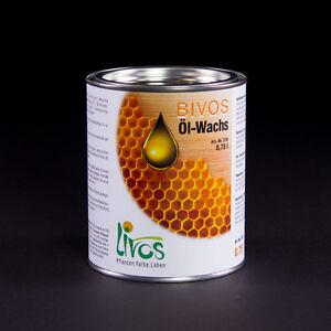 LIVOS BIVOS Öl-Wachs 375, 750 ml