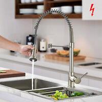 Niederdruck Küchenarmatur Küche Spüle Wasserhahn Ausziehbar Einhebelmischer DHL