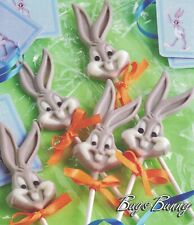 Bugs Bunny Silicone Lollipop Mould Baking Chocolate Cake Decoration Mold Shapes