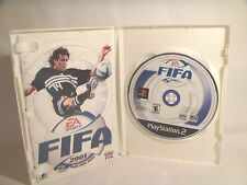 FIFA 2001: Major League Soccer (Sony PlayStation 2, 2000) game & manual