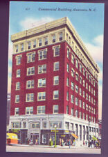 Gastonia North Carolina Nc Commercial Building Linen Vintage Postcard