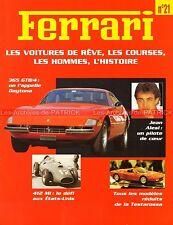 FERRARI 365 GTB/4 Daytona 412 MI 246 SP Jean ALESI Nicola LARINI  - Fascicule 21