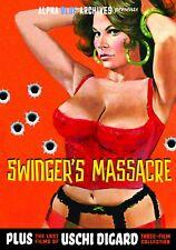 SWINGER'S MASSACRE--USCHI DIGARD SEXPLOITATION TRIPLE FEATURE