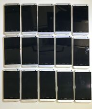 LOT OF 15 - HTC One M7  PN07200 - BROKEN FOR PARTS AS-IS