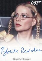 James Bond Heroes & Villains Blanche Ravalec as Dolly Autograph Card