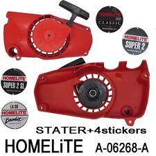 HOMELITE tronconneuse Piece Lanceur demarreur + 4 stickers  A-06268-A