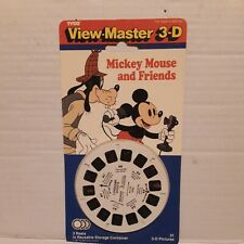 1991 Disney Mickey Mouse Mouse and Friends View-Master 3-D Reels #3054 New!!!