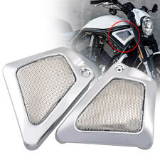Left&Right Motorcycle Chrome Airbox Frame Neck Side Cover For Harley V-Rod VRSCX