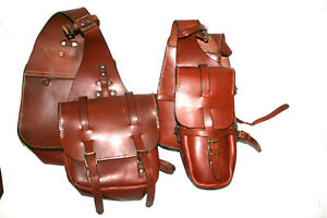 Neuwertig: Satteltaschen, Malibaud, 4er Set, für vorne und hinten, Packtaschen