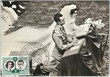 57076 - BELGIUM - POSTAL HISTORY: MAXIMUM CARD 1960 - ROYALTY: Royal Wedding