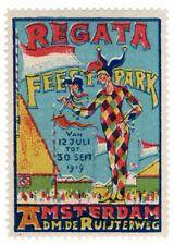 (I.B-CKK) Netherlands Cinderella : Festival Label (Amsterdam 1919)