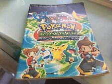le guide de strategie officiel pokemon ranger nuit sur almia  sur nintendo ds