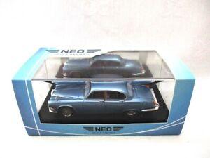 Jaguar 420 Saloon  Met Light Blue 1968  NEO   49572  RARE