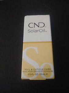 CND Essentials SOLAROIL Solar Oil Nail & Cuticle Care Conditioner .5 fl oz