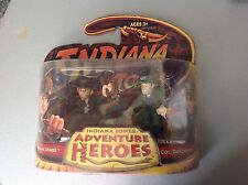 Vintage# Indiana Jones Action Figure  Jones & col. Dovchenko #Mosc