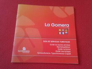 LIBRO GUÍA DE VIAJES TURISMO O SIMILAR LA GOMERA ISLAS CANARIAS SPAIN TOURISM..
