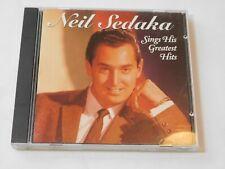 Neil Sedaka Sings His Greatest Hits by Neil Sedaka (CD, Jun-1992, RCA Records)