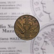 10 Centesimi 1943 XXI Impero (Regno Italia V E III) qFDC LOT1721