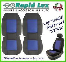 """Coppia fodere coprisedili anteriori Star per Toyota Yaris fantasia """"S742"""""""