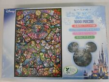 A802 Tenyo Jigsaw Puzzle 1000 pieces Disney Heroine collection stained glass
