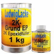 Epoxid  1,2 kg EP Set  Grundierung Füller für Autolack Werkstatt Ludwiglacke