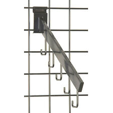 Gridwall Waterfall J-Hook in Black 16 Inch Long - Box of 100