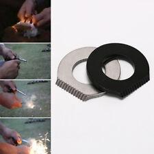 5PCS/Set Survival Magnesium Flint Scraper Stone Fire Starter Lighter For Camping