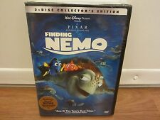 Finding Nemo (Dvd, 2003, 2-Disc Collector's Edition) Pixar (No Sleeve) New
