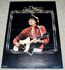 Die Laughing Movie Robby Benson Poster 1980 Orion OSP #642 Hot Guy Teen Idol