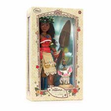 Disney Store Limited Edition Moana Vaiana Doll Collectors Rare Collectors NEW