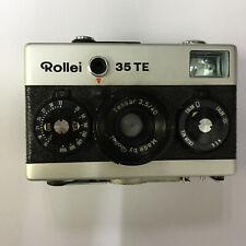 Rollei 35 TE Silver Film Camera Tessar 40mm f/3.5 * READ *