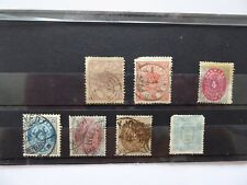 Denmark 1864-75 used selection Cat £100