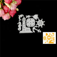 Ocean Rudder Design Metal Cutting Die For DIY Scrapbooking Album Paper Cards SF