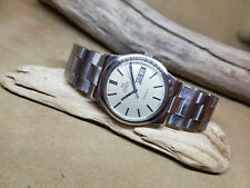 USED 1972 OMEGA SEAMASTER DARK SILVER DIAL DAYDATE CAL:1022 AUTO MAN'S WATCH