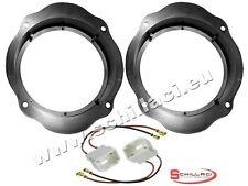 Adattatori altoparlanti Casse 165 mm + connettori  per Ford C-Max portiere anter